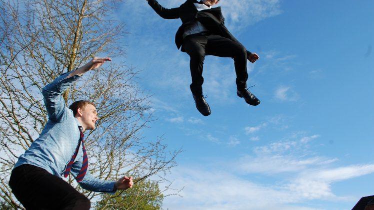 Sjov med trampoliner for hele familien